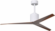 Matthews EK-WH-WN Eliza Contemporary Gloss White Interior/Exterior 56  Ceiling Fan