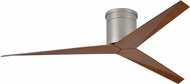 Matthews EKH-BN-WN Eliza Contemporary Brushed Nickel Interior/Exterior 56  Ceiling Fan