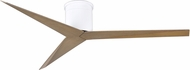 Matthews EKH-WH-GA Eliza Contemporary Gloss White Interior/Exterior 56  Ceiling Fan
