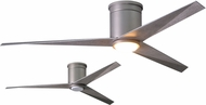 Matthews EKHLK-BN-BW Eliza Modern Brushed Nickel w/ Barn Wood Blades LED 56  Home Ceiling Fan