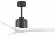 Matthews MW-TB-MWH-42 Mollywood Contemporary Textured Bronze 42 Home Ceiling Fan