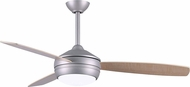 Matthews T24-BN-MABW-52 T-24 Contemporary Brushed Nickel LED 52 Ceiling Fan