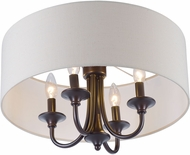 Maxim 10013OMOI Bongo Oil Rubbed Bronze Ceiling Lighting