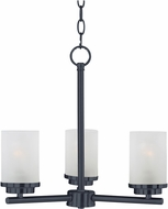 Maxim 10203FTBK Corona Black Mini Ceiling Chandelier