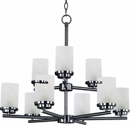Maxim 10206FTBK Corona Black Chandelier Light