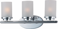 Maxim 10213FTPC Corona Polished Chrome 3-Light Bath Lighting