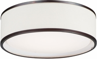 Maxim 10221OMOI Prime Contemporary Oil Rubbed Bronze LED 16  Ceiling Lighting Fixture