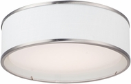 Maxim 10221WLSN Prime Modern Satin Nickel LED 16  Ceiling Light Fixture