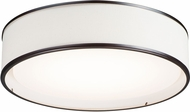 Maxim 10223OMOI Prime Modern Oil Rubbed Bronze LED 20  Flush Mount Light Fixture