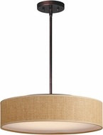 Maxim 10226GCOI Prime Contemporary Oil Rubbed Bronze LED 20  Drum Pendant Light