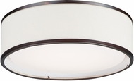 Maxim 10231OMOI Prime Contemporary Oil Rubbed Bronze LED 16  Overhead Light Fixture
