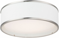 Maxim 10231WLSN Prime Modern Satin Nickel LED 16  Overhead Lighting Fixture