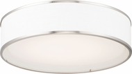Maxim 10233WLSN Prime Contemporary Satin Nickel LED 20  Ceiling Light Fixture