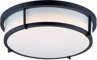 Maxim 10274WTBK Rogue Contemporary Black LED Ceiling Lighting Fixture