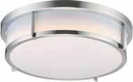 Maxim 10278WTSN Rogue Contemporary Satin Nickel LED Overhead Lighting Fixture