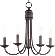 Maxim 10345OI Logan Traditional Oil Rubbed Bronze Ceiling Light Pendant