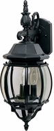 Maxim 1034BK Crown Hill Traditional Black Exterior 23 Lighting Sconce