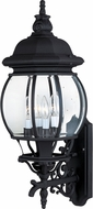 Maxim 1037BK Crown Hill Traditional Black Outdoor 28.5 Wall Sconce Lighting