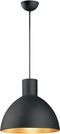 Maxim 11026BKGLD Cora Contemporary Black / Gold 20  Pendant Lighting Fixture