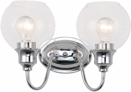 Maxim 1112CLPC Ballord Contemporary Polished Chrome 2-Light Bathroom Lighting