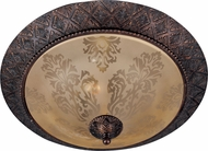 Maxim 11240SAOI Symphony Traditional Oil Rubbed Bronze Overhead Lighting Fixture