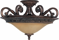 Maxim 11241SAOI Symphony Traditional Oil Rubbed Bronze Ceiling Lighting