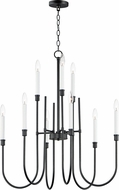 Maxim 11289BK Tux Contemporary Black Ceiling Chandelier