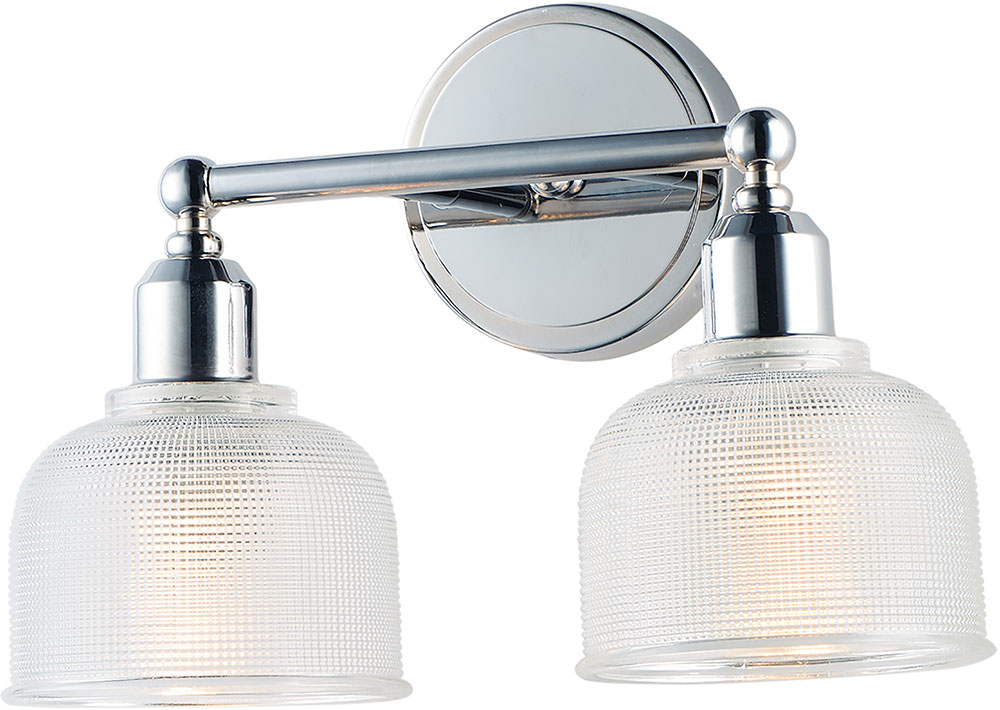 Maxim 11322clpc Hollow Modern Polished Chrome 2 Light Vanity