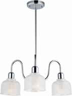 Maxim 11326CLPC Hollow Contemporary Polished Chrome Mini Chandelier Light