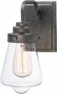 Maxim 11331CLWZ Cape Cod Contemporary Weathered Zinc Wall Lamp