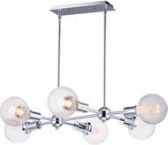 Maxim 11346PC-BUL-G40-PR Molecule Contemporary Polished Chrome Island Lighting