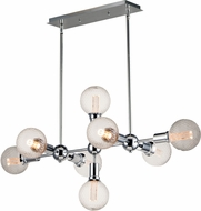 Maxim 11348PC-BUL-G40-PR Molecule Modern Polished Chrome Kitchen Island Light
