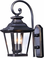 Maxim 1137CLBZ Knoxville Traditional Bronze Exterior 11 Lighting Sconce