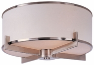 Maxim 12050WTSN Nexus Satin Nickel 3-lamp Modern Ceiling Light Fixture