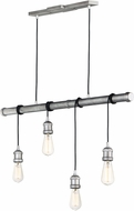 Maxim 12135WZ Early Electric Contemporary Weathered Zinc Multi Drop Ceiling Lighting
