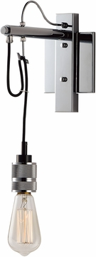 Maxim 12143PC Swagger Contemporary Polished Chrome Lamp Sconce
