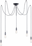 Maxim 12145PC Swagger Modern Polished Chrome Multi Ceiling Pendant Light