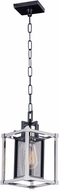Maxim 12159BKPN Refine Modern Black and Polished Nickel Mini Ceiling Pendant Light