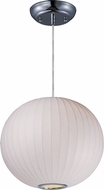 Maxim 12189WTPC Cocoon Contemporary Polished Chrome Hanging Lamp