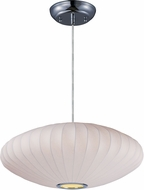 Maxim 12190WTPC Cocoon Modern Polished Chrome Hanging Light
