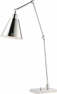 Maxim 12226PN Library Modern Polished Nickel Reading Light