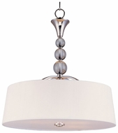 Maxim 12753WTPN Rondo 4-light Modern Crystal Pendant Lamp