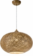 Maxim 14402NAWT Bali Modern Natural Hanging Pendant Light
