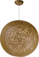 Maxim 14405NAWT Bali Modern Natural Drop Ceiling Lighting