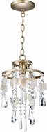 Maxim 14422CZGS Cebu Modern Capiz / Gold Silver Foyer Light Fixture