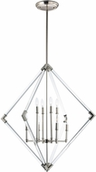 Maxim 16106CLPN Lucent Modern Polished Nickel Foyer Light Fixture
