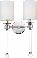 Maxim 16108WTCLPN Lucent Polished Nickel Wall Lighting Sconce