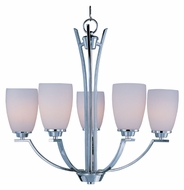 Maxim 20025SWPC Rocco Medium Transitional 24 Inch Diameter Ceiling Chandelier