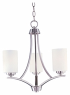 Maxim 20033SWSN Deven 18 Inch Diameter Satin Nickel Transitional Chandelier Lamp