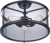 Maxim 20110BKNAB Palladium Black / Natural Aged Brass Ceiling Light